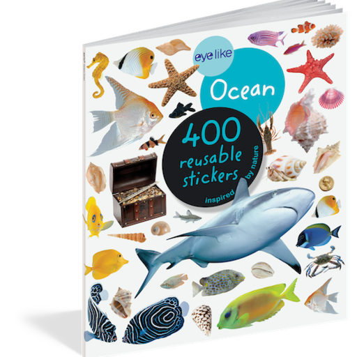 WORKMAN EYELIKE OCEAN 400 REUSABLE STICKERS INSPIRED BY NATURE