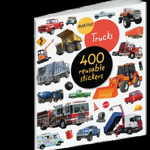 WORKMAN EYELIKE TRUCKS 400 REUSABLE STICKERS