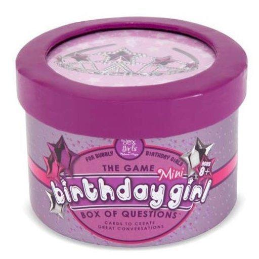 MELISSA & DOUG THE GIRLS BIRTHDAY MINI BOX OF QUESTIONS