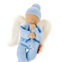 KATHE KRUSE NICKIBABY ANGEL LIGHT BLUE BABY