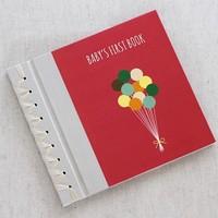 RAG & BONE BABY'S FIRST BOOK, RASPBERRY BALLOONS