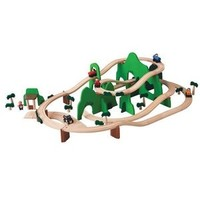 PLAN TOYS, INC. ROAD AND RAIL PLAYSET <br />