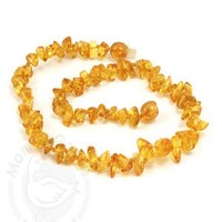 MOMMA GOOSE PRODUCTS CHIP HONEY BABY TEETHING NECKLACE-MD
