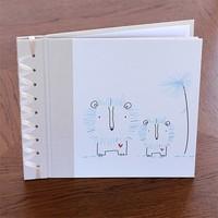 RAG & BONE BABY'S FIRST BOOK, BLUE BABY LION