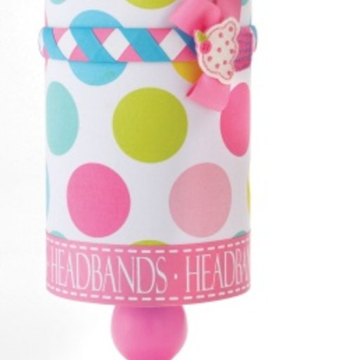 MUD PIE MULTICOLOR HEADBAND HOLDER