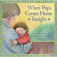 SIMON & SCHUSTER WHEN PAPA COMES HOME TONIGHT