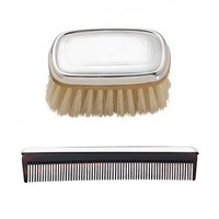 REED & BARTON GALLERY BOY'S BRUSH & COMB SET