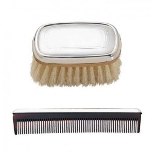 REED & BARTON KENT BOY'S BRUSH AND COMB SET
