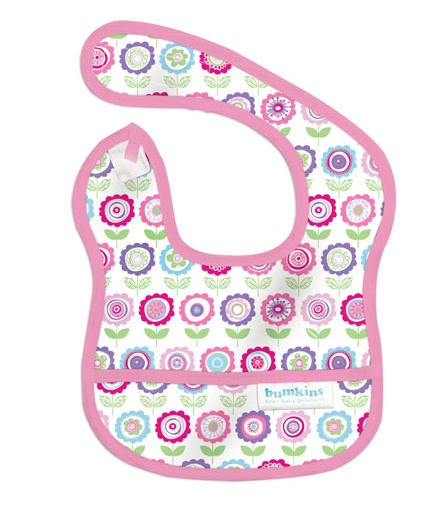 BUMKINS BLOOM STARTER BIB