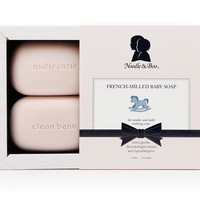 NOODLE & BOO NOODLE & BOO FRENCH-MILLED BABY SOAP 2 BAR
