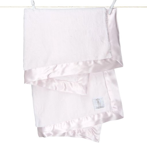LITTLE GIRAFFE, INC. LITTLE GIRAFFE LUXE PINK BABY BLANKET