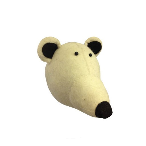 FIONA WALKER FIONA WALKER ENGLAND POLAR BEAR HEAD WALL DECOR