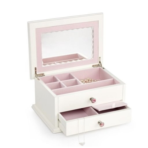 REED & BARTON SECRET PRINCESS JEWELRY CHEST