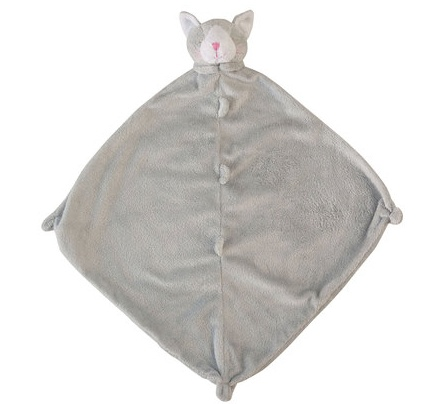 ANGEL DEAR ANGEL DEAR GREY KITTY BLANKIE