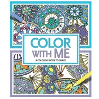 STERLING PUBLISHING CO. COLOR WITH ME COLORING BOOK