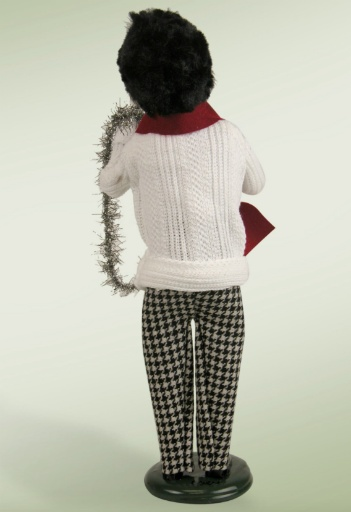 BYERS' CHOICE CABLE KNIT SWEATER MAN