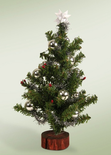BYERS' CHOICE DECORATED TREE