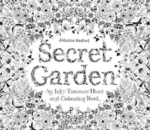 HACHETTE MUDPUPPY JOHANNA BASFORD SECRET GARDEN COLORING BOOK - BellaBoo