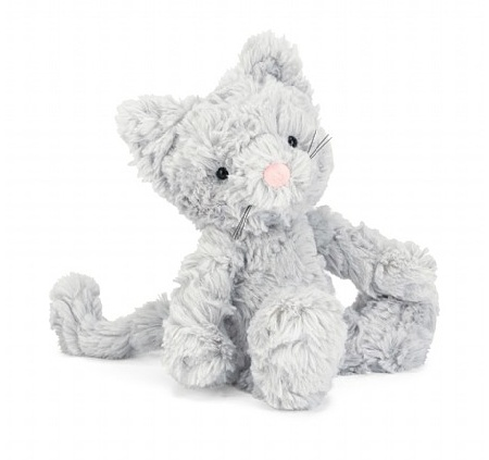 JELLYCAT INC SMALL SQUIGGLE KITTY