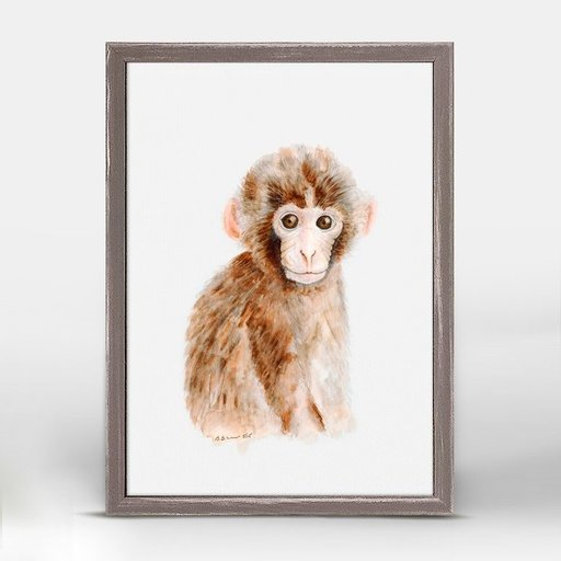 OOPSY DAISY MINI FRAMED BABY MONKEY PORTRAIT 5X7