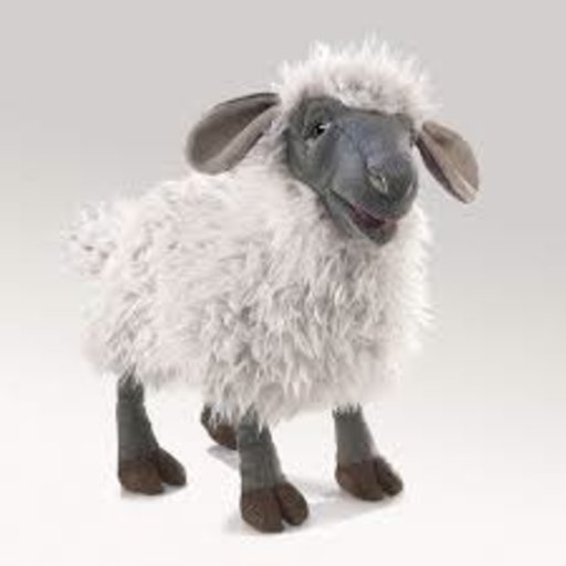 FOLKMANIS BLEATING SHEEP PUPPET