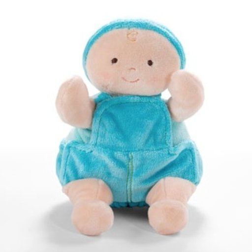 "NORTH AMERICAN BEAR COMPANY 10"" BLUE ROSY CHEEKS BABY JEANS"