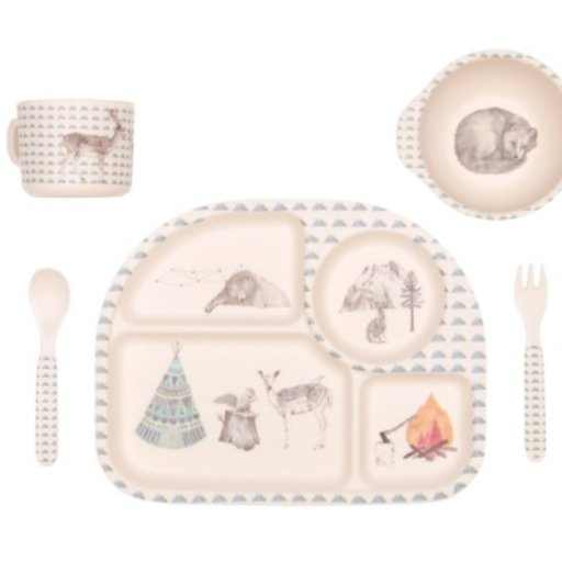 LOVE MAE FOREST FEAST 5PC SET