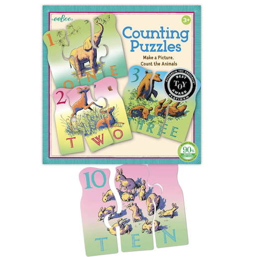 EEBOO ANIMAL COUNTING PUZZLE