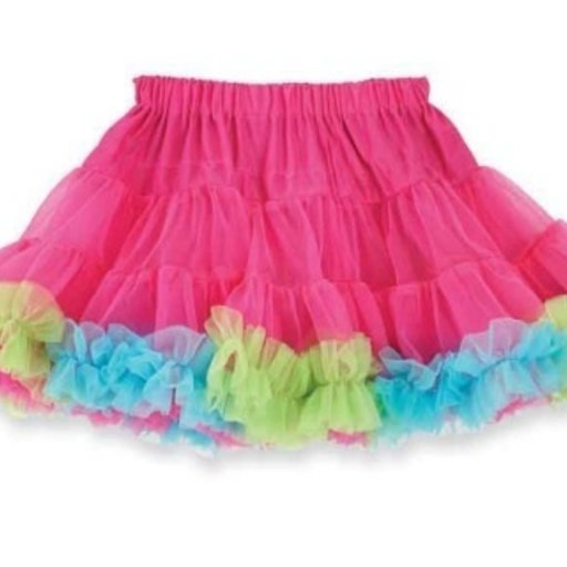 MUD PIE MULTI COLOR PETTISKIRT
