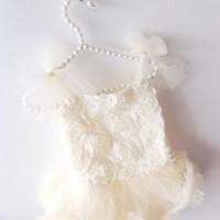 OLIVIA ROSE ROSE BLOSSOM TUTU ONESIE DRESS