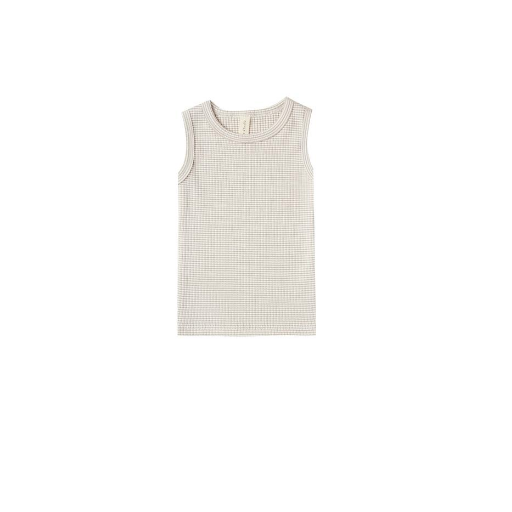QUINCY MAE ORGANIC RIBBED TANK TOP