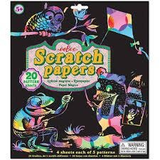 EEBOO SCRATCH PAPER STICKERS-