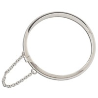 CHERISHED MOMENTS, LLC STERLING SILVER CLASSIC BANGLE