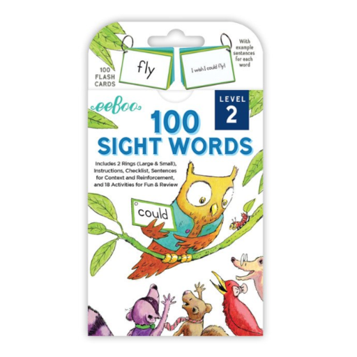 EEBOO 100 SIGHT WORDS LEVEL 2