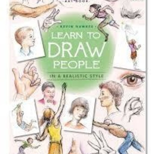 EEBOO LEARN TO DRAW PEOPLE BOOK