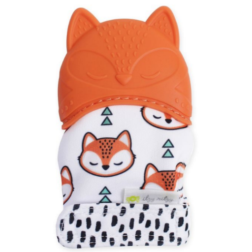 ITZY RITZY ITZY RITZY FOX TEETHER MITT