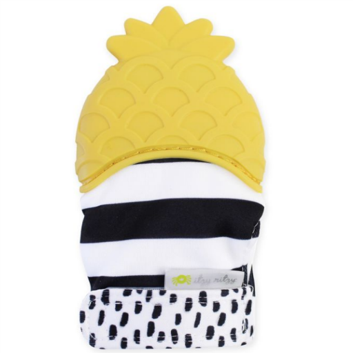 ITZY RITZY ITZY RITZY PINEAPPLE TEETHER MITT