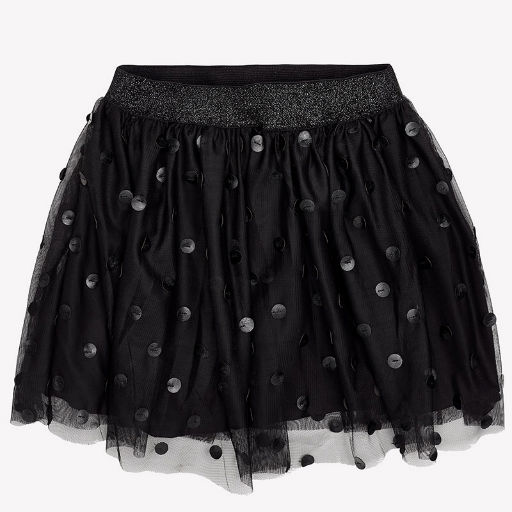 MAYORAL USA TULLE POLKA DOT SKIRT