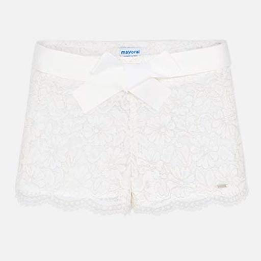 MAYORAL USA LACE SHORTS