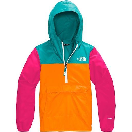 THE NORTH FACE YOUTH FANORAK FLAME ORANGE