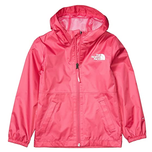 THE NORTH FACE YOUTH ZIPLINE RAIN JACKET MR. PINK