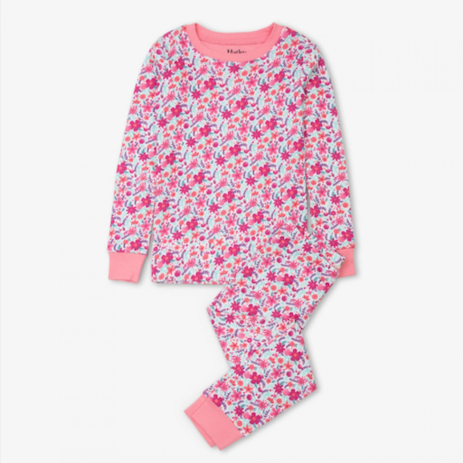 HATLEY SUMMER GARDEN ORGANIC COTTON PAJAMA SET