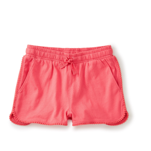 TEA POM POM TRIM SHORTS
