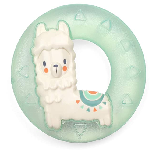 ITZY RITZY CUTE N' COOL LLAMA WATER FILLED TEETHERS