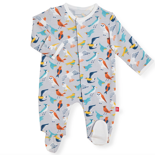 MAGNIFICENT BABY EARLY BIRD MODAL MAGNETIC FOOTIE