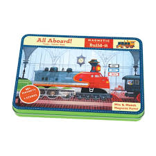 GALISON MUDPUPPY ALL ABOARD! MAGNETIC BUILD-IT