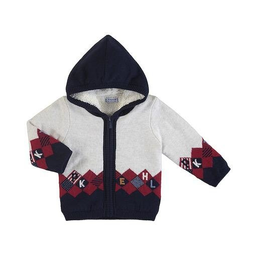 MAYORAL USA HOODED SWEATER