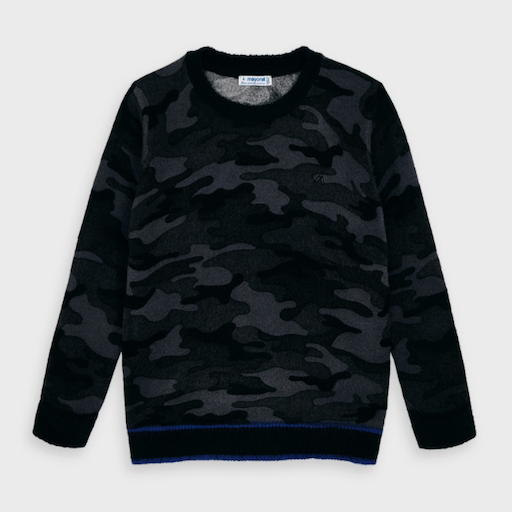 MAYORAL USA CAMOUFLAGE SWEATER