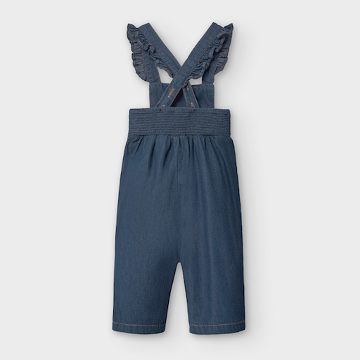 MAYORAL USA DENIM ROMPER