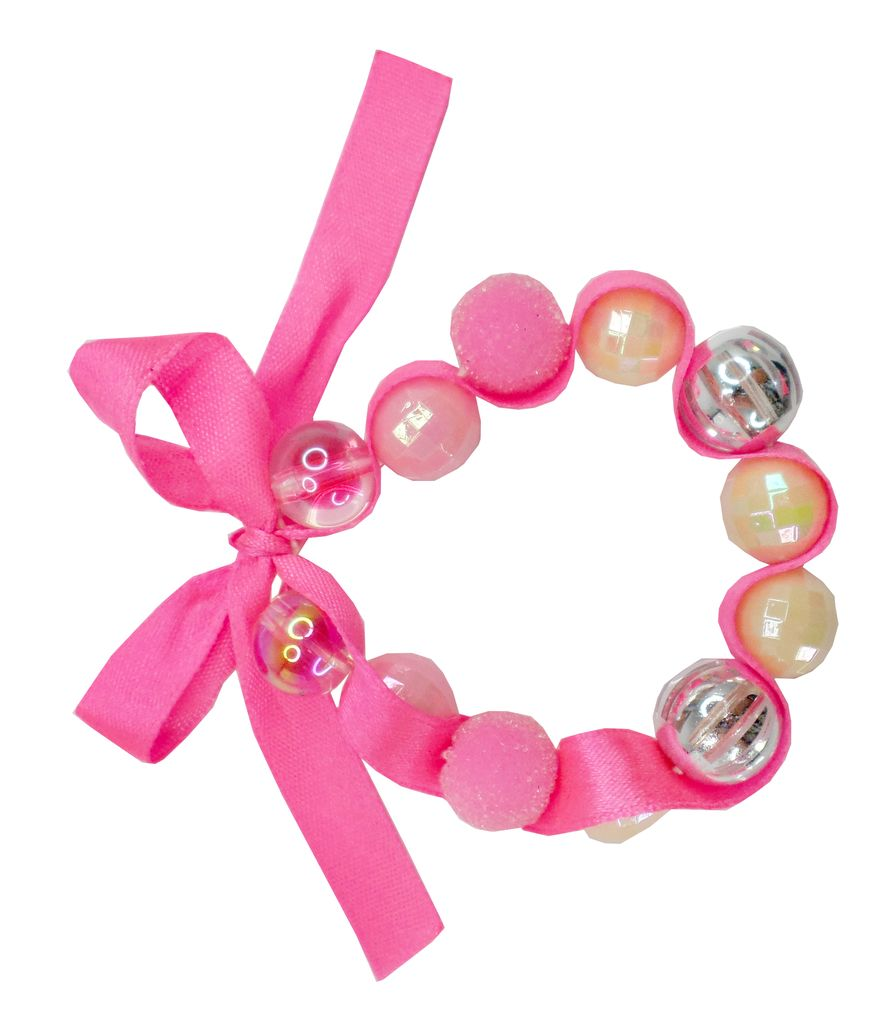 CREATIVE EDUCATION OF CANADA PINK HAPPY THOUGHTS BRACELET